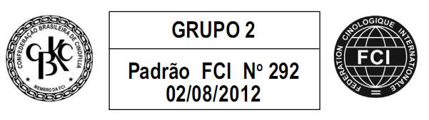 Grupo 2 - Padrão FCI Nº 292 02/08/2012